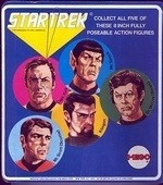 Mego Star Trek card back
