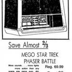 Mego Star Trek Phaser Battle Game #51220